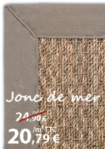 tapis sur mesure pas cher sisal et jonc de mer le blog du sol. Black Bedroom Furniture Sets. Home Design Ideas