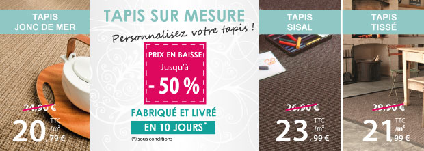 Tapis Sur Mesure Pas Cher Sisal Et Jonc De Mer Le Blog Du Sol