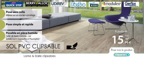 pvc clipsable toute la gamme des pvc clipser d avenue du sol le blog du sol. Black Bedroom Furniture Sets. Home Design Ideas