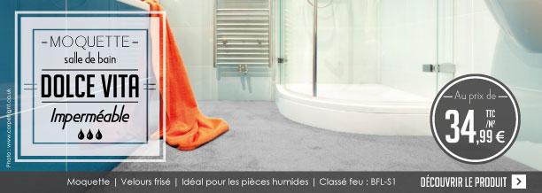 Moquette Spéciale Salle De Bain DOLCE VITA Le Blog Du Sol - Moquette salle de bains