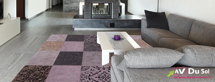 craquez pour un de nos tapis patchwork vintage le blog du sol. Black Bedroom Furniture Sets. Home Design Ideas